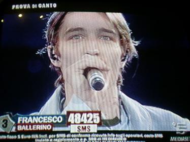 Francesco canta La Gatta