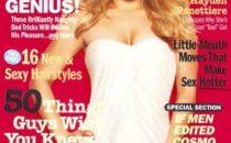 Hayden Panettiere ragazza copertina del numero di Aprile di Cosmopolitan