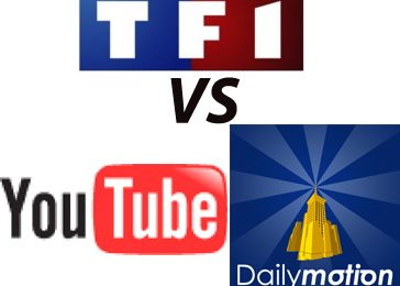 TF1 chiede i danni a YouTube e DailyMotion