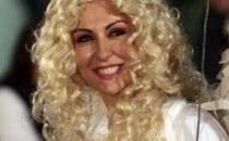 Sabrina Ferilli sul set
