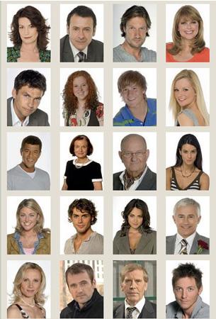 Rote Rosen/My Life, il cast 2008