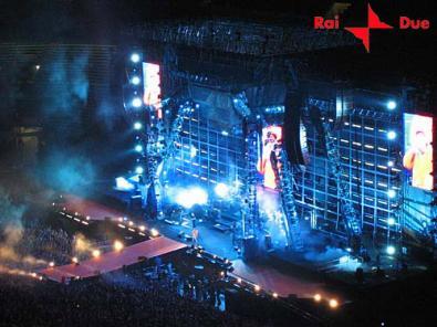 RaiDue punta sulla musica: una diretta dallo stadio Olimpico dedicata a Vasco Rossi