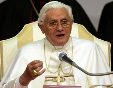 Papa Ratzinger a Domenica In?