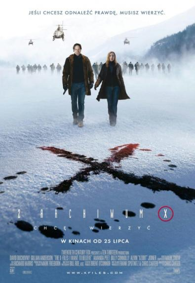 Il trailer e la locandina (forse) ufficiale di X Files: I Want To Believe
