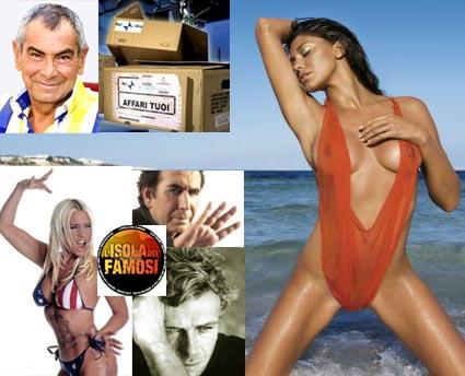 Giurato ad Affari Tuoi, all'Isola 6 Giucas Casella, Massimo Ciavarro e Belen Rodriguez