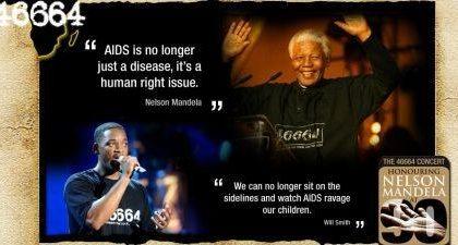 46664, il concerto evento in onore di Mandela su MTV
