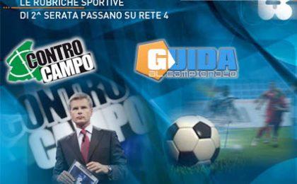 Autunno 2008, Italia 1 regala Controcampo e Guida al Campionato a Rete4