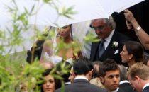 Le nozze di Elisabetta Gregoraci e Flavio Briatore