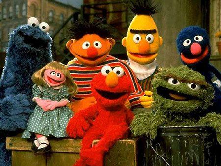 I pupazzi di Sesame Street guest star in Scrubs