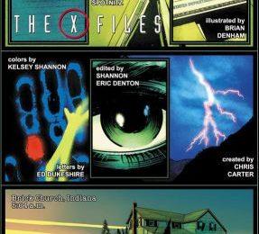 X Files, nuovo trailer e l'anteprima della copertina del fumetto