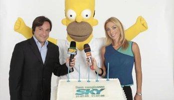 Sky Italia festeggia i suoi primi 5 anni