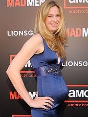 Anne Dudek aspetta un bambino
