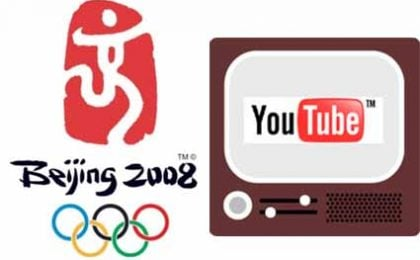 Olimpiadi 2008 su YouTube per i Paesi 'senza tv'