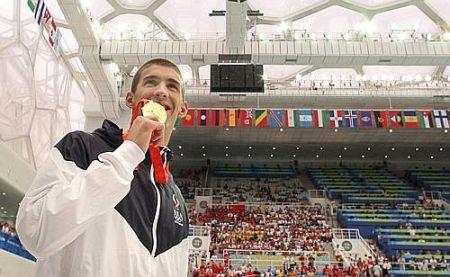Michael Phelps, star della tv