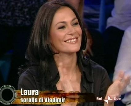 Laura, la sorella di Vladimir Luxuria
