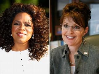"""Oprah Winfrey: """"No a Sarah Palin"""""""