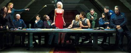 Il film di Battlestar Galactica in produzione