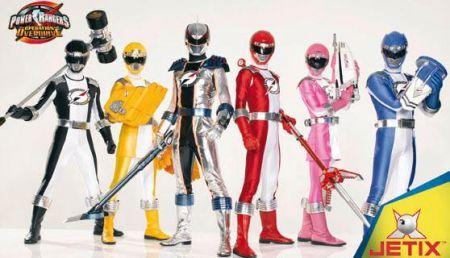 Power Rangers Operation Overdrive, Jetix