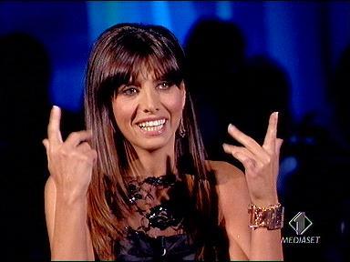 Emanuela Tittocchia, prima eliminata