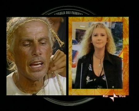 Carlo e l'ex fidanzata storica Claudia