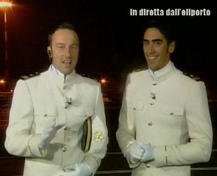 Francesco Facchinetti e Filippo Magnini