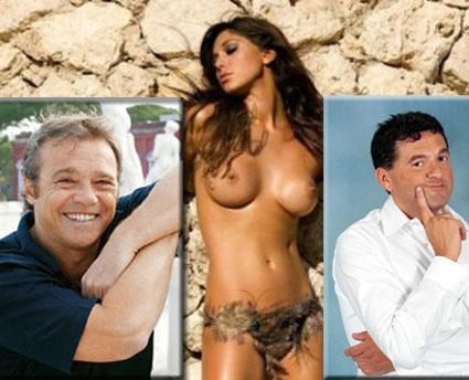 Scherzi a Parte con Belen, Claudio Amendola e Mammucari