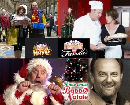 Natale 2008, Scotti piatto forte del menu Mediaset
