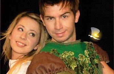 Amici, Marta e Massimiliano nel musical Peter Pan
