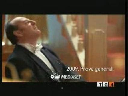 Sconcerto, gli auguri Mediaset per il 2009