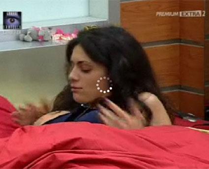 Il topless di Cristina Del Basso