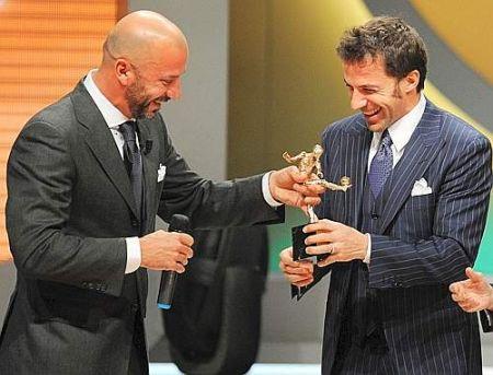 Del Piero, Oscar del calcio 2008