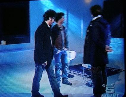 Alberto, Nicola e Stefano