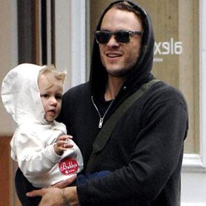 Heath Ledger e la figlia Matilda