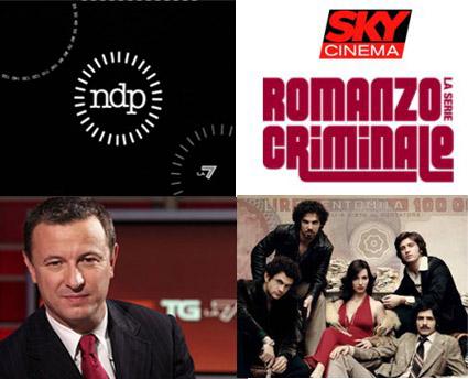 La7, torna NdP; su Sky maratona Romanzo Criminale