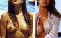 Belen Rodriguez, prima e dopo