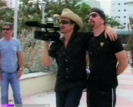 Current, Bono Vox filmaker domani in prima serata