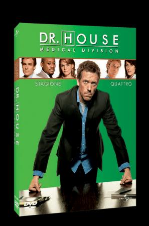 Dr House, la quarta stagione da oggi in dvd