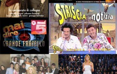 Palinsesti Rai e Mediaset, le novità dal 29 marzo al 4 aprile
