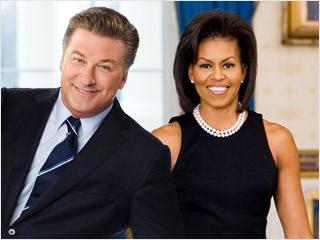 """Alec Baldwin: """"Voglio Michelle Obama in 30 Rock"""""""