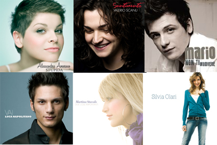 Amici: escono i cd di Valerio, Luca, Mario, Martina e Silvia