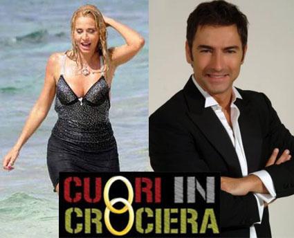 Valeria Marini e Marco Liorni, Cuori in Crociera