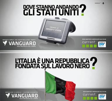 Vanguard, i nuovi appuntamenti