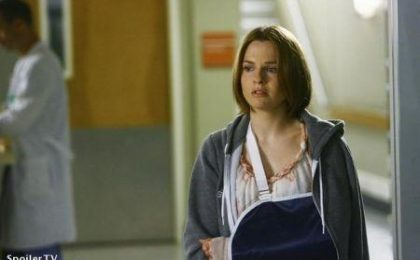 Grey's Anatomy 5 season finale, parla Chyler Leigh