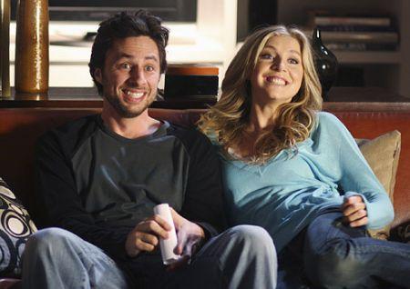 Zach Braff e Sarah Chalke per sei episodi di Scrubs 9