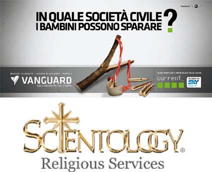 Vanguard torna tra le armi Usa e riparte da Scientology