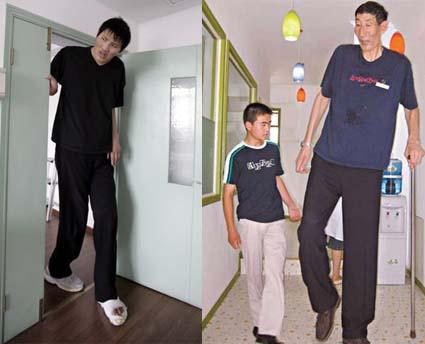 Lo Show dei Record e l'uomo più alto del mondo
