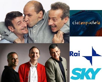 Autunno 2009: AG&G a RaiTre, Gialappa's in Rai o Sky