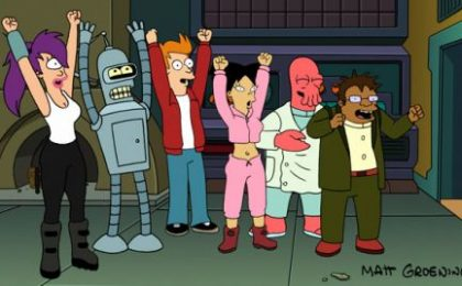 Tornano i Futurama!, Rasing The Bar, Terriers: casting e novità