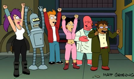 Tornano i Futurama!, Rasing The Bar, Terriers: casting e novità