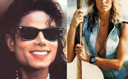 Michael Jackson e Farrah Fawcett, addio a due icone pop